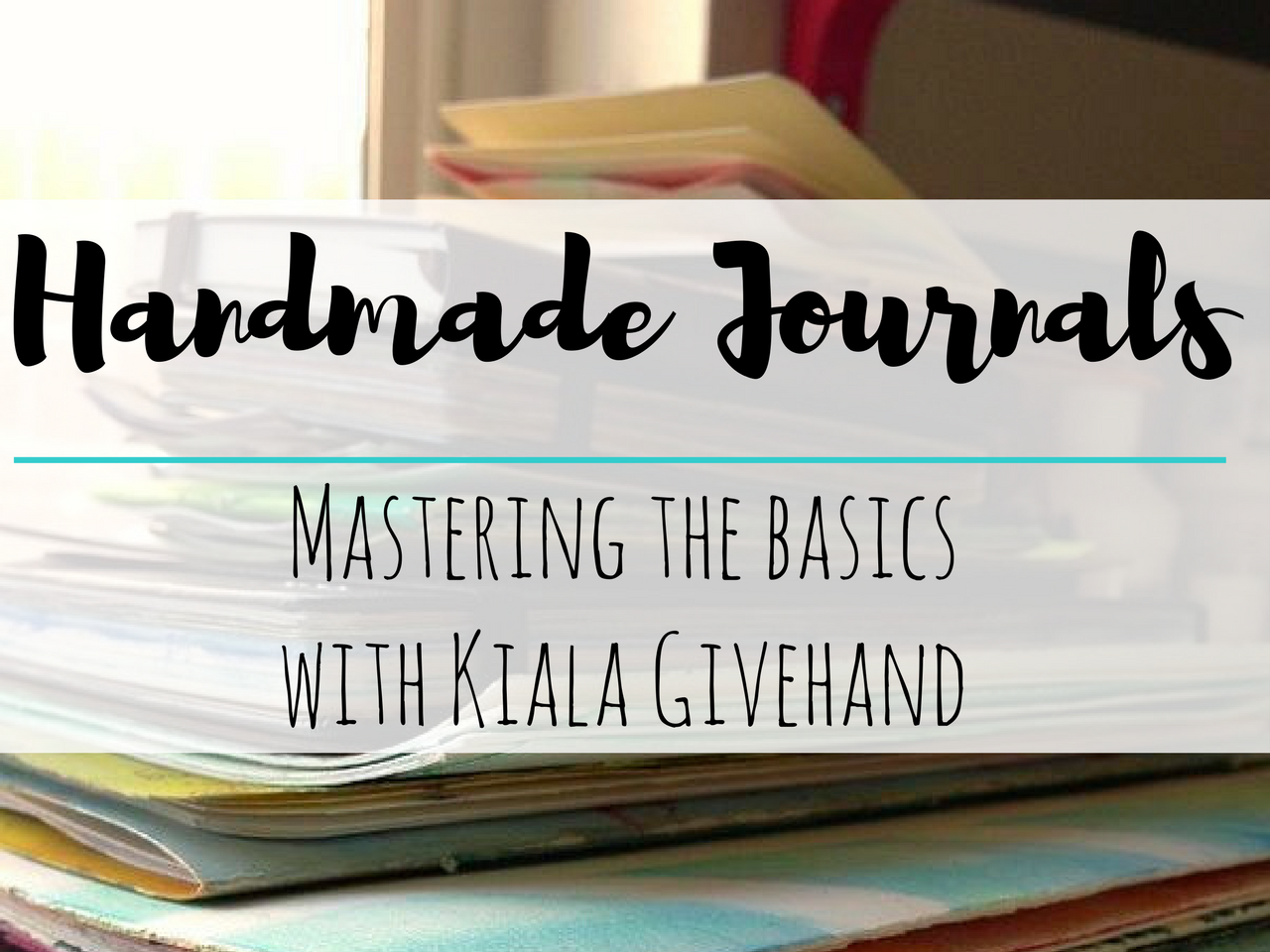 Beginner art journaling classes you can take online: Handmade Journals: Mastering The Basics #artjournaling #artjournalideas #artjournalclasses #bulletjournal