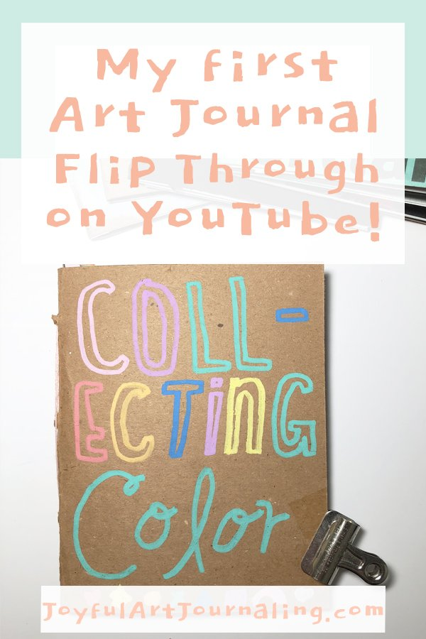 My First Art Journal Flip Through on YouTube! #artjournal #artjournalideas #artjournalflipthrough