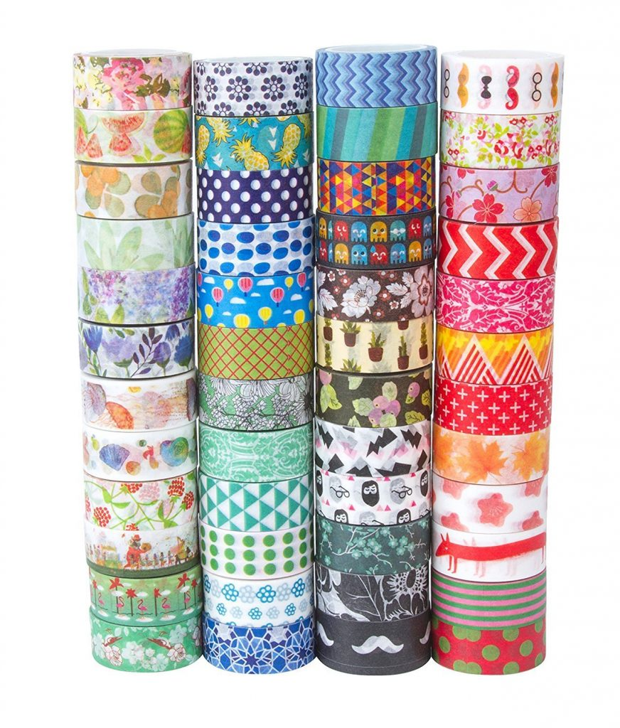 Recommended art journal supplies: Decorative Washi Tape