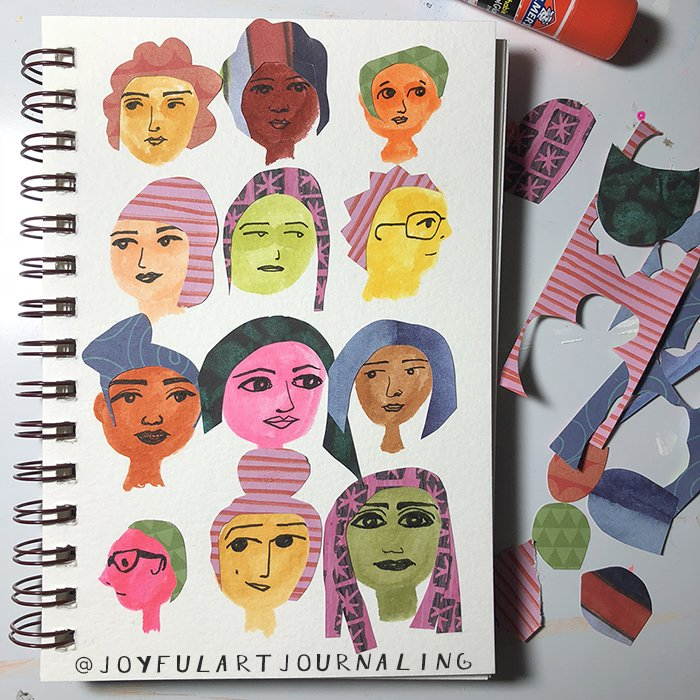 From 5 Fun Art Journal Ideas! #artjournalideas #artjournalinspiration #joyfulartjournaling