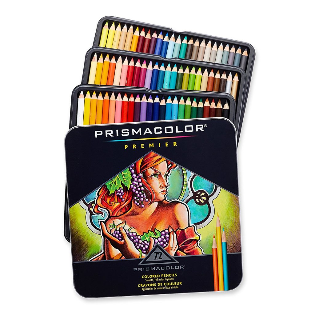 recommended art journal supplies: Prismacolor Premier Colored Pencils
