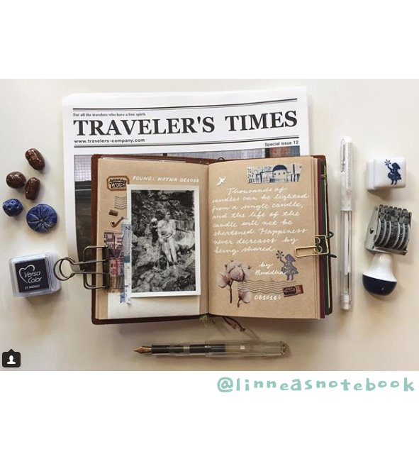Get Inspired by these 20+ Art Journalers on Instagram: meet @linneasnotebook on #joyfulartjournaling
