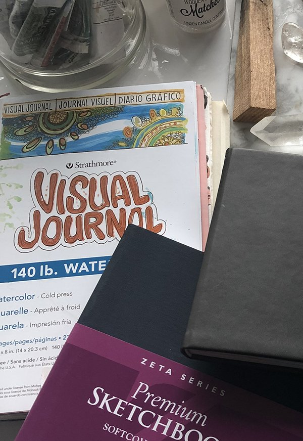 Best Journals for Art Journaling: the Strathmore 400 Series made the list! #joyfulartjournaling