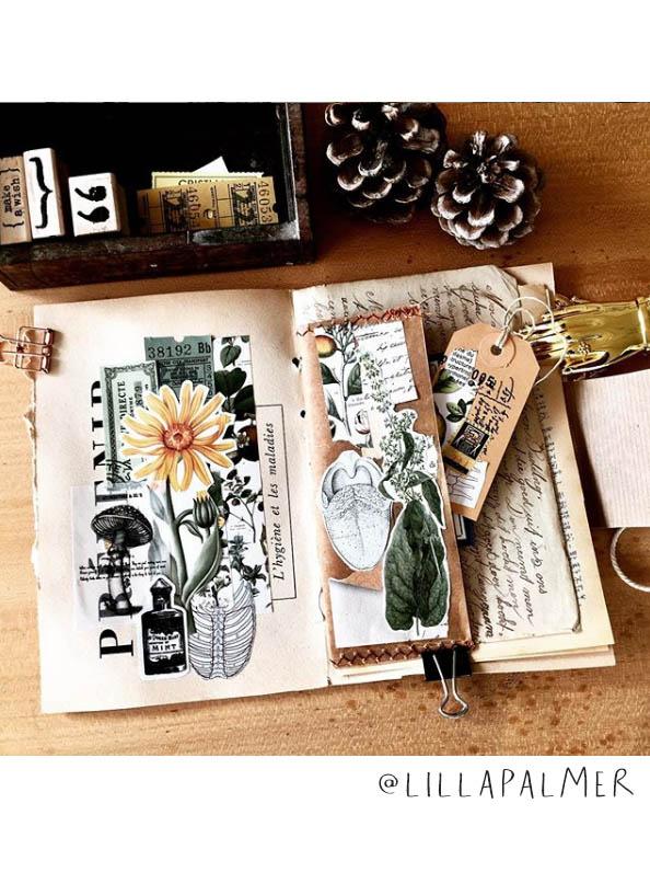 Come get some Art Journal Inspiration! This list of (More) Inspiring Art Journalers on Instagram includes @lillapalmer #joyfulartjournaling #artjournals #artjournalideas #artjournalinspiration
