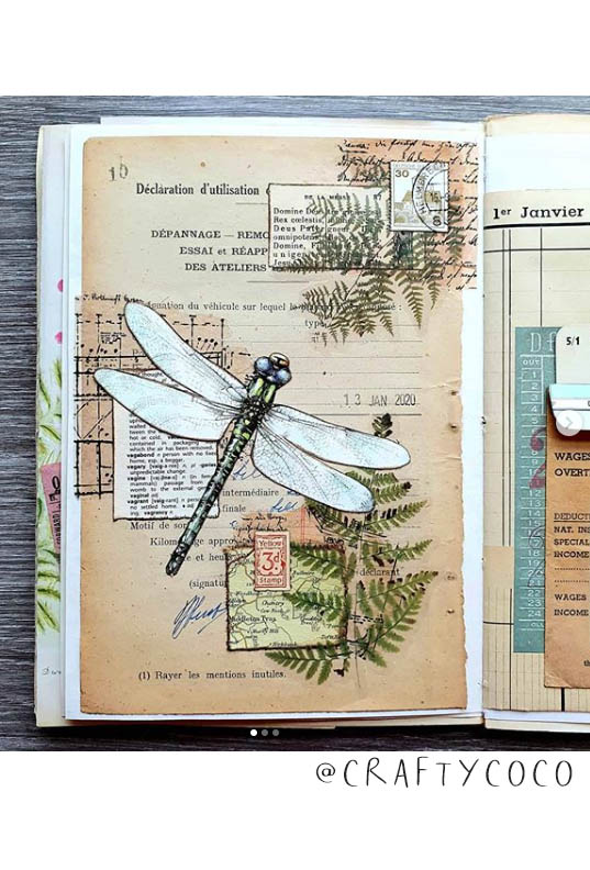 So Much Art Journal Inspiration! This list of (More) Inspiring Art Journalers on Instagram includes @craftycoco plus 20 more! #joyfulartjournaling #artjournals #artjournalideas #artjournalinspiration