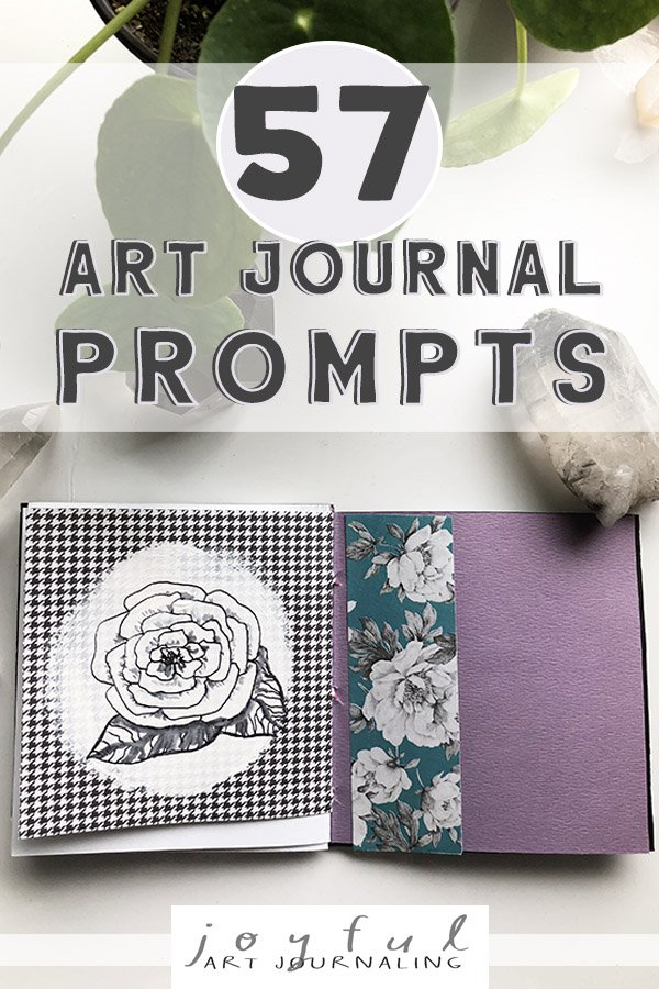 These fun and easy art journal prompts are sure to inspire you!