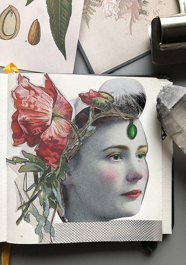 FREE Floral vintage ephemera: For use in your art journals, art, collages and more! #joyfulartjournaling #vintageephemera