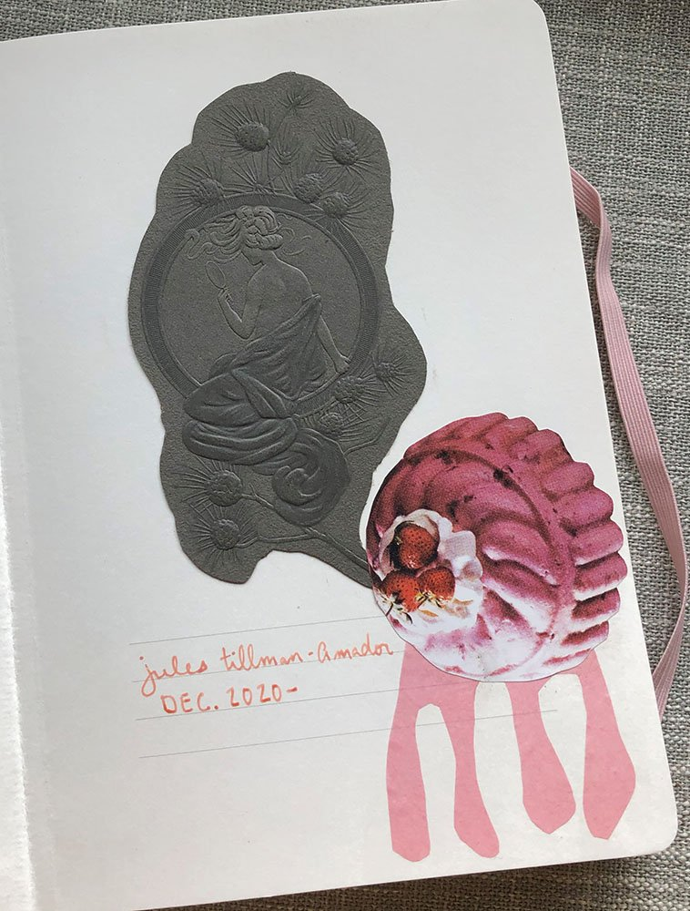 The first page of an art journal is always intimidating for some reason. I frequently wait until my journal is full to make something on the first page. But not in this journal! Click through to learn why... joyfulartjournaling.com