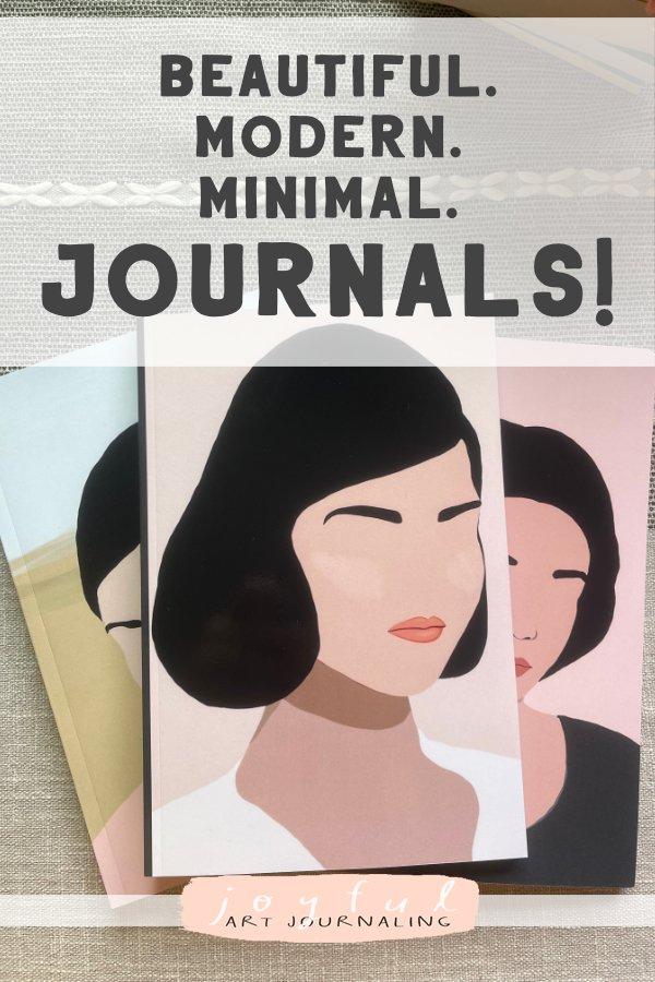 Blank Lined Journals from Joyful Art Journaling